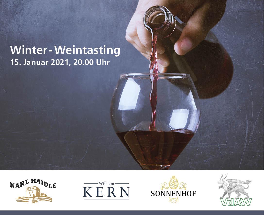 Weintasting 15.01.2021
